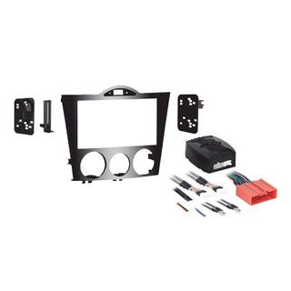 FITTING KIT MAZDA RX-8 2004 - 2008 DOUBLE DIN HIGH GLOSS