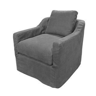 Dume Chair Graphite Cotton