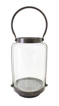 Small Cabin Lantern Tall