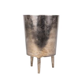 Bronze Pot with Legs Short