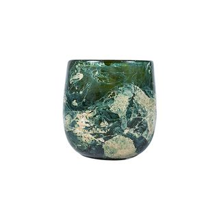 Yves Marbled Round Votive Small