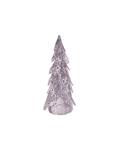 Light Up Silver Tree Small