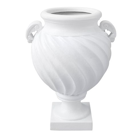 Greek Urn with Handles White