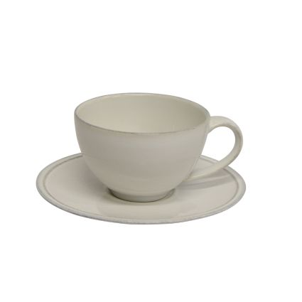 Friso Teacup and Saucer Stoneware