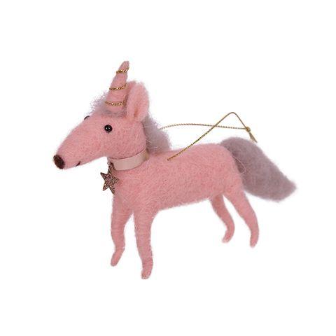 Hanging Pink Unicorn