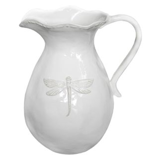 Dragonfly Ceramic Pitcher Small