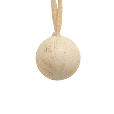 Wooden Ball White Small