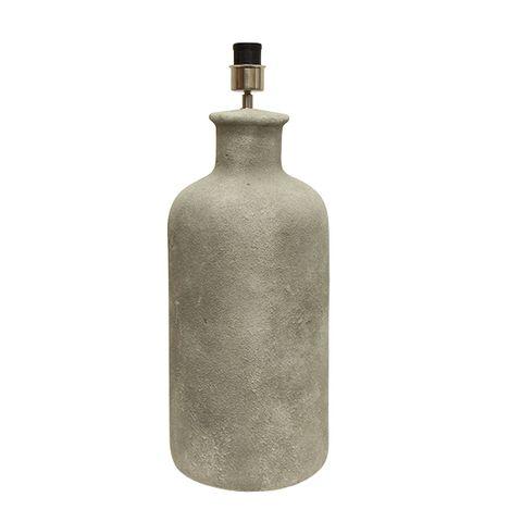 Freya Concrete Bottle Lamp