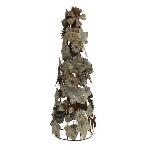 Floral Metal Tree Large