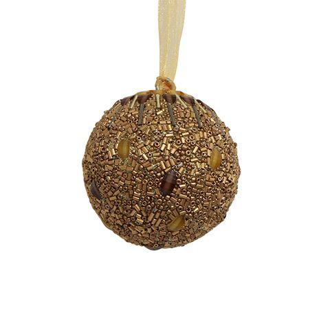 Beaded Ball Gold