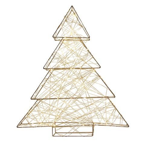 Wire Light Up Tree Large