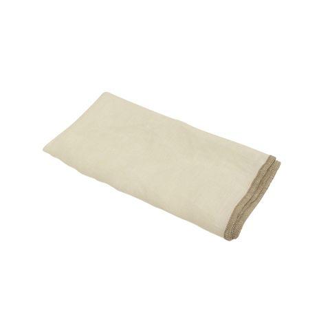 SET 4 Linen Napkin Natural Edge