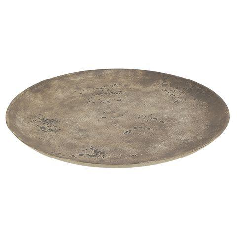Gris Concrete Plate Large