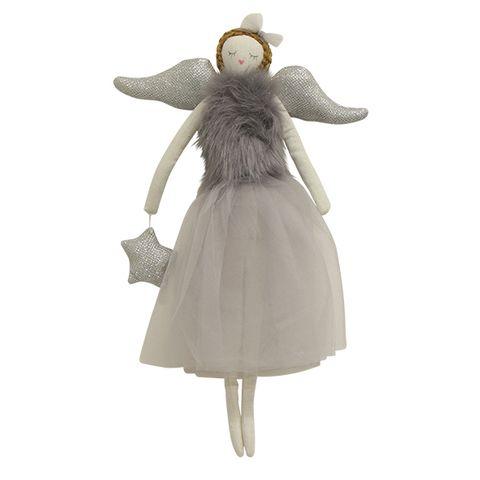 Ella Hanging Angel Grey Large