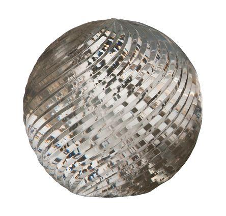 "Large Swirl Cut Ball 5"""
