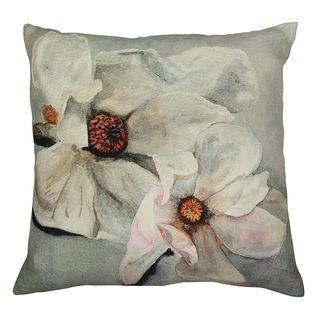 Magnolia Light Blue Cushion