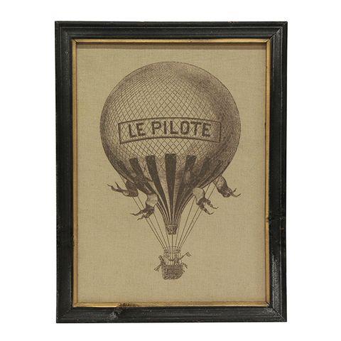 Le Pilote Air Balloon Wall Art