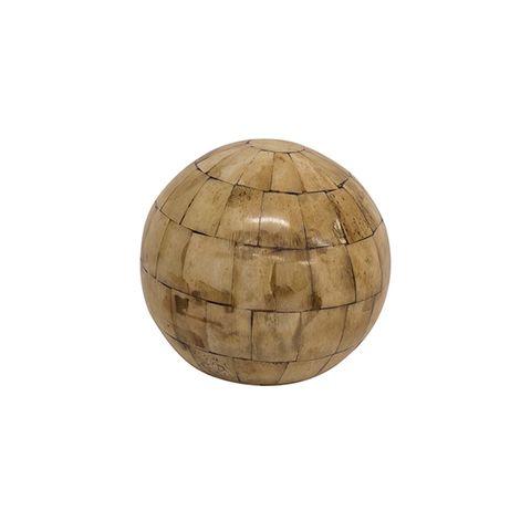 Natural Bone Décor Ball