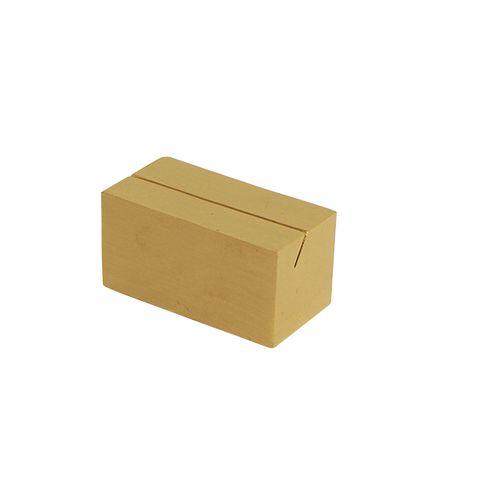 Brass Card Holder Rectangle