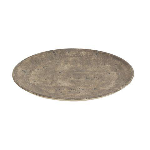 Gris Concrete Plate Small
