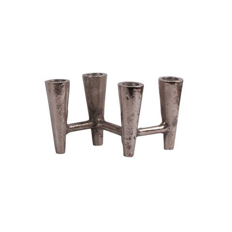 Zigzag 4 cup candleholder