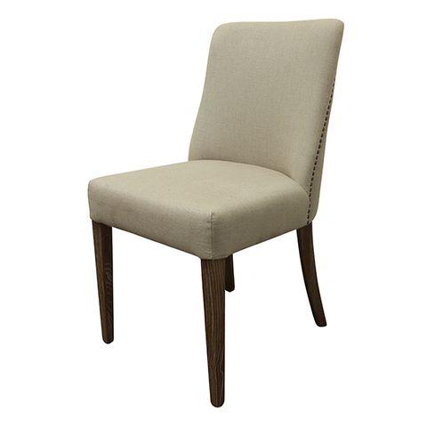 Emmett Dining Chair Natural Linen