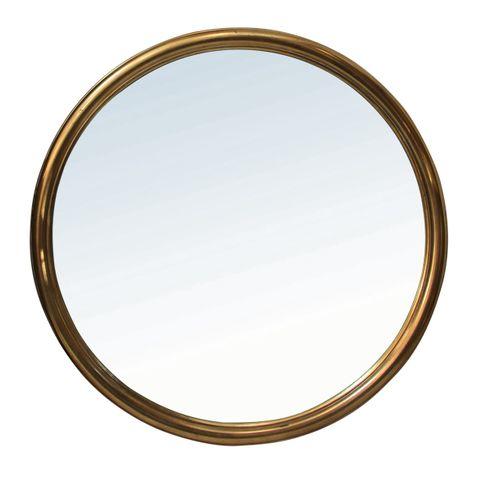 Alsace Round Bronze Mirror