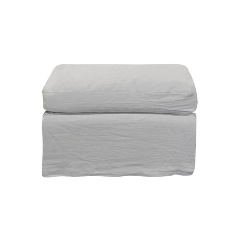 Dume Ottoman Sand Linen Cover Only
