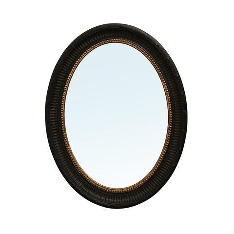 Jolin Oval Black Mirror