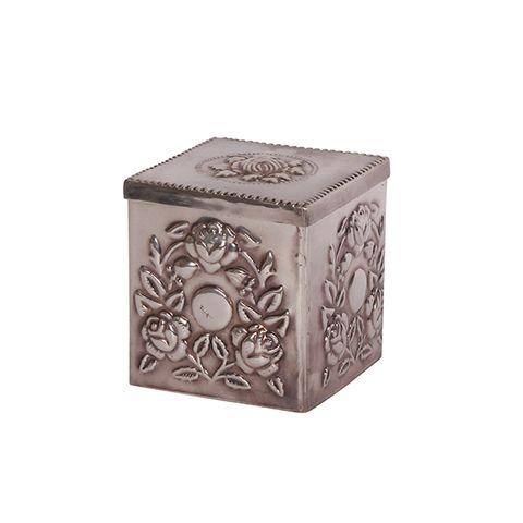 Emile Adorned Square Box