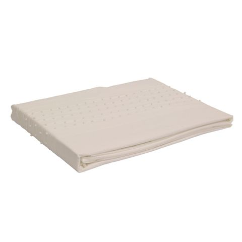 Embelli Super King Flat Sheet with Dots