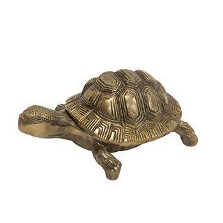 Anitque Gold Turtle Box