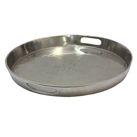 Large Deep Round Tray