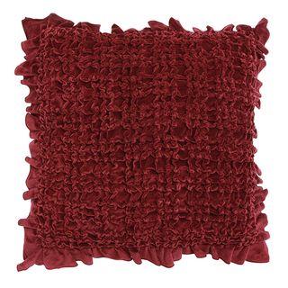 Ruffle Berry Cushion