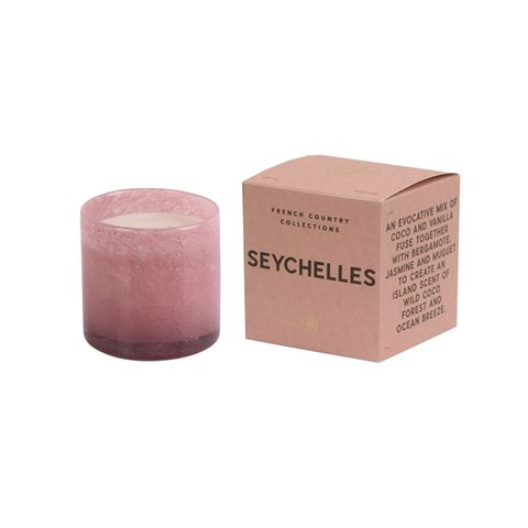 Seychelles Glass Candle