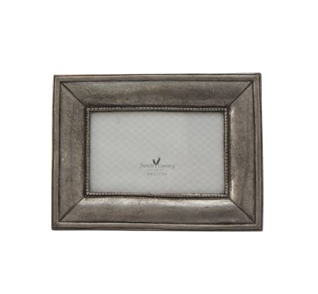 Pewter Rectangle Frame 3x4.5""
