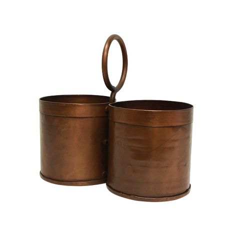 Utensil Holder Copper