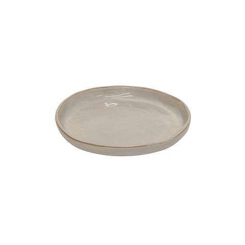 Franco Rustic White Medium Plate