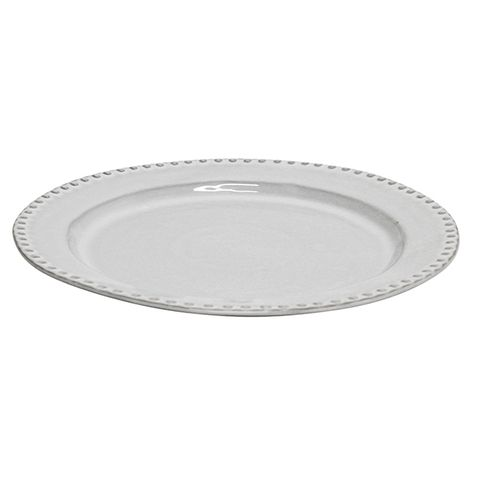 Iris Beaded Dinner Plate