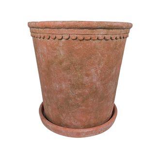 Scallop Planter Medium Terracotta