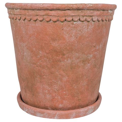 Scallop Planter Large Terracotta