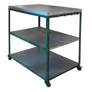 Zinc Green Utility Bench
