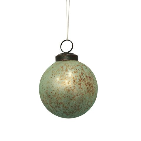 Antique Hanging Ball Turquoise