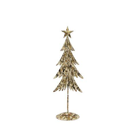 Handpainted Gold Tree Small