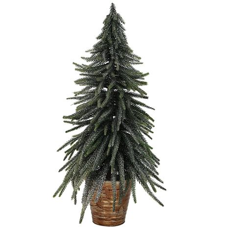 Potted Table Tree Silver Large