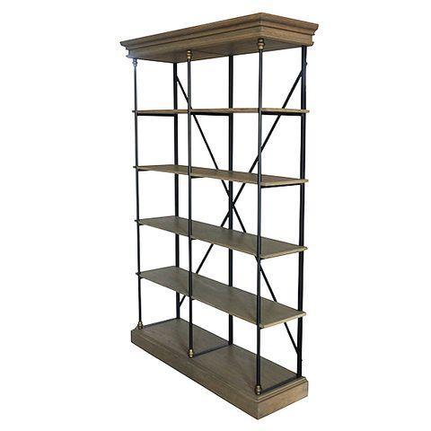 Pallais Open Double Shelf