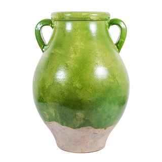 Provencal Vase Pear Green