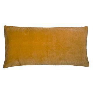 Velvet Lodge Cushion Saffron