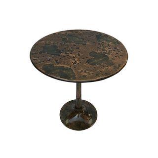 Pedestal Side Table Desert Copper