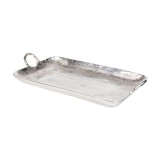 Rectangle Tray with Ring Handles Small
